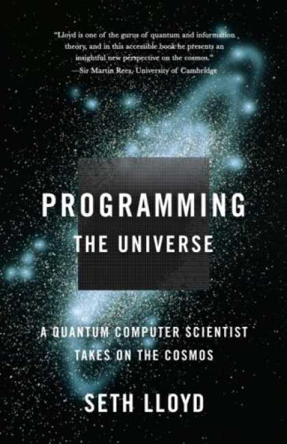 Greatest Book Covers - Programming the Universe