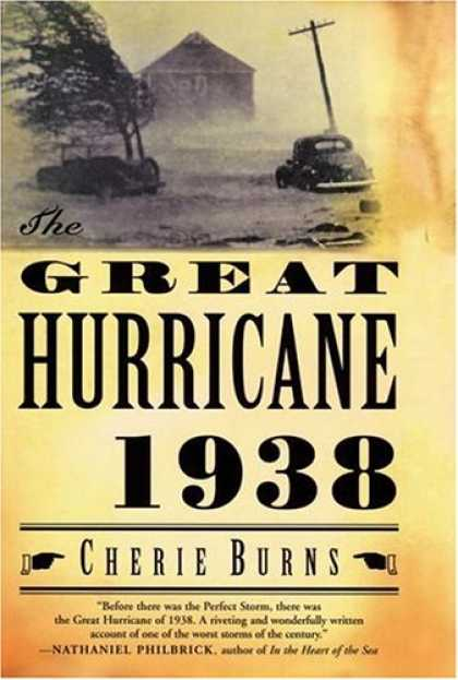 Greatest Book Covers - The Great Hurricane 1938