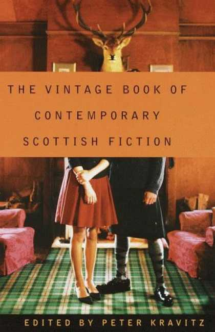 Greatest Book Covers - The Vintage Book Of Contemporary Scottish Fiction