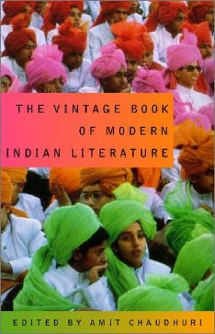 Greatest Book Covers - The Vintage Book of Modern Indian Literature