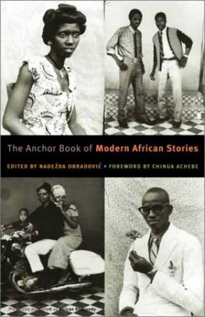 Greatest Book Covers - The Anchor Book of Modern African Stories