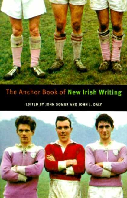 Greatest Book Covers - The Anchor Book of New Irish Writing