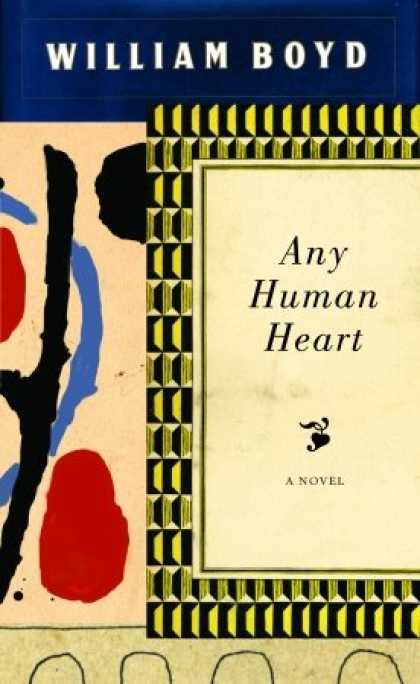 Greatest Book Covers - Any Human Heart