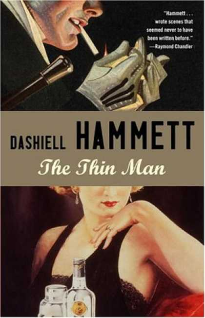 Greatest Book Covers - The Thin Man