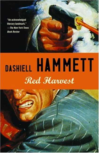 Greatest Book Covers - Red Harvest