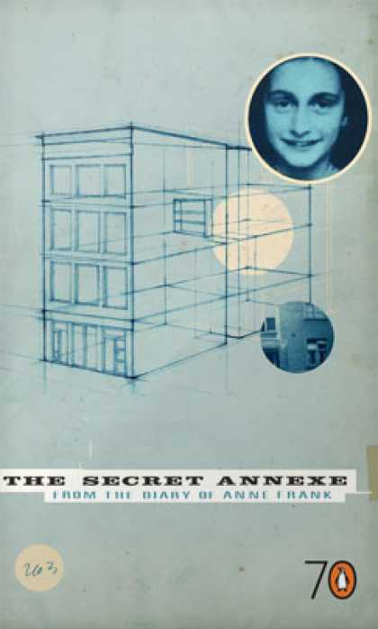 Greatest Book Covers - The Secret Annexe