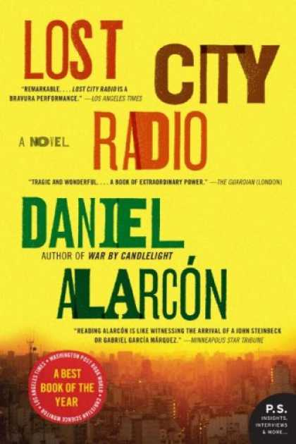 Greatest Book Covers - Lost City Radio