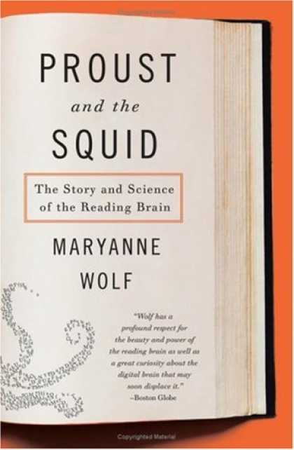 Greatest Book Covers - Proust and the Squid
