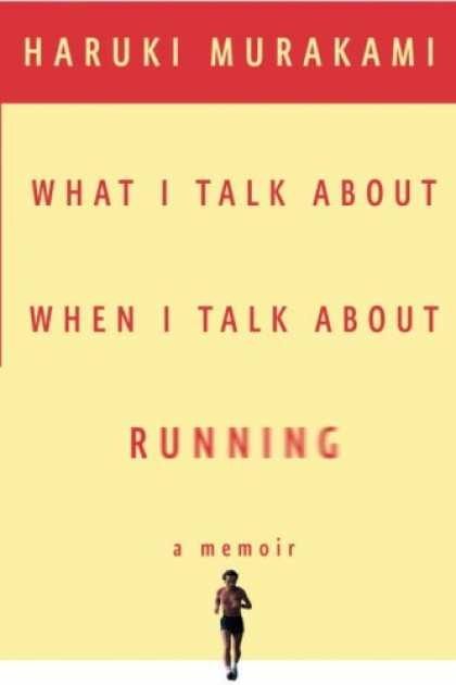 Greatest Book Covers - What I Talk About When I Talk About Running
