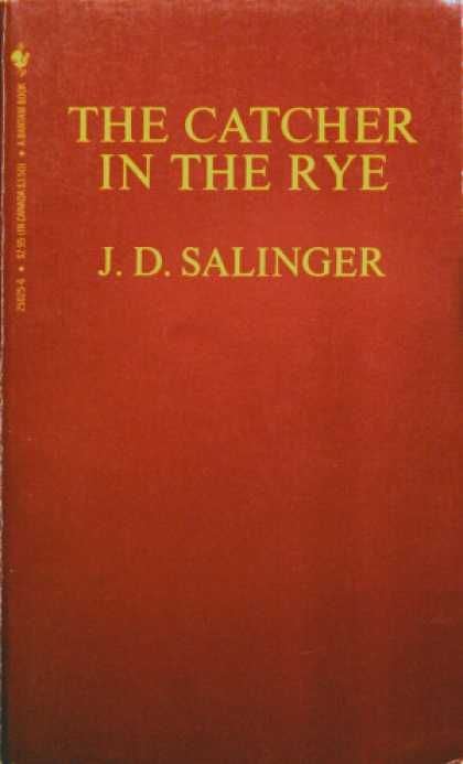 Greatest Book Covers - The Catcher in the Rye