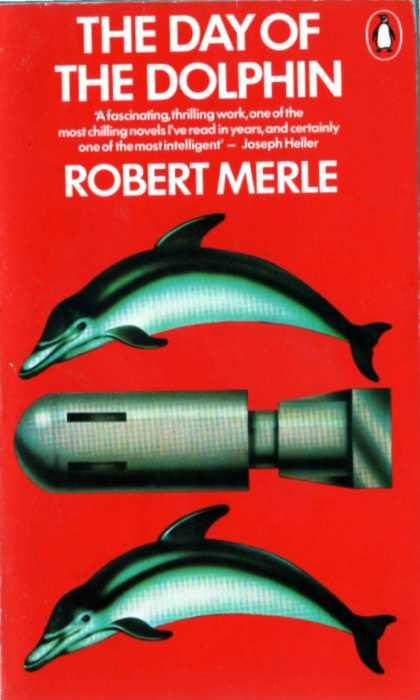 Greatest Book Covers - The Day of the Dolphin