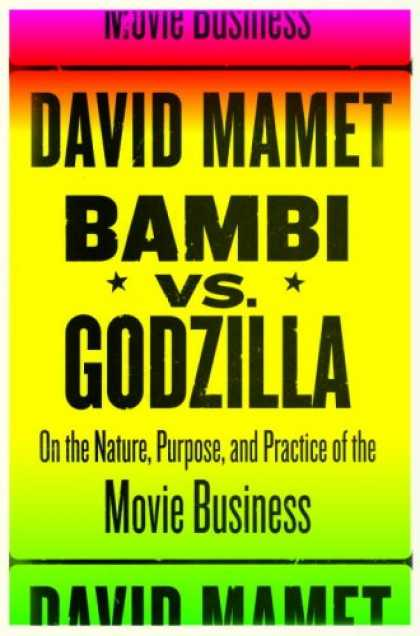 Greatest Book Covers - Bambi vs. Godzilla