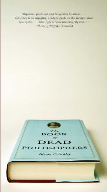 Greatest Book Covers - The Book of Dead Philosophers