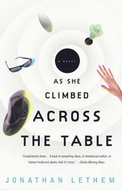 Greatest Book Covers - As She Climbed Across the Table