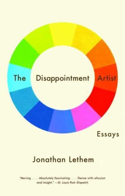 Greatest Book Covers - The Disappointment Artist