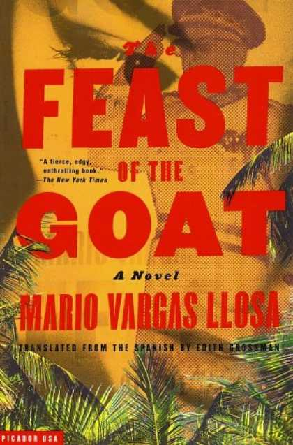 Greatest Book Covers - The Feast of the Goat