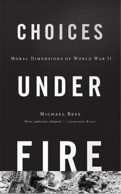 Greatest Book Covers - Choices Under Fire