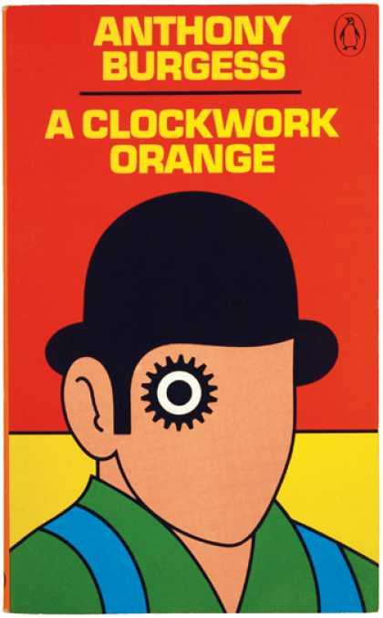 Greatest Book Covers - A Clockwork Orange