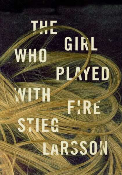 Greatest Book Covers - The Girl Who Played with Fire