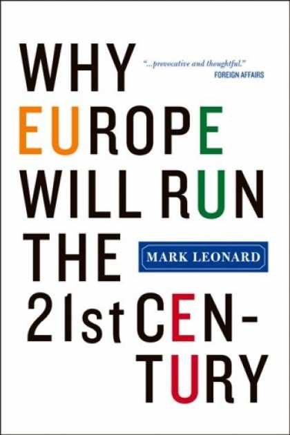 Greatest Book Covers - Why Europe Will Run the 21st Century