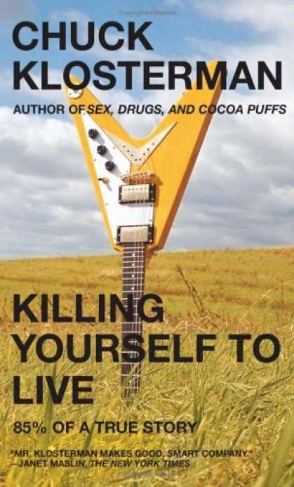 Greatest Book Covers - Killing Yourself to Live