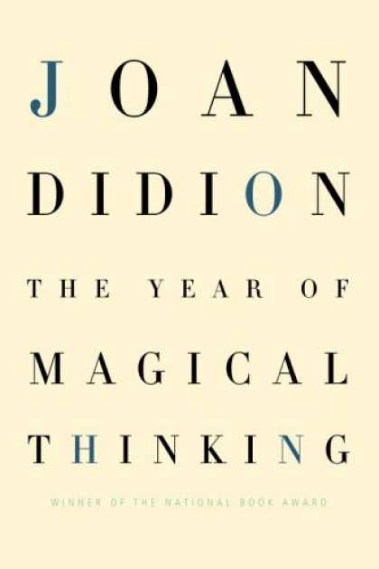 Greatest Book Covers - The Year of Magical Thinking
