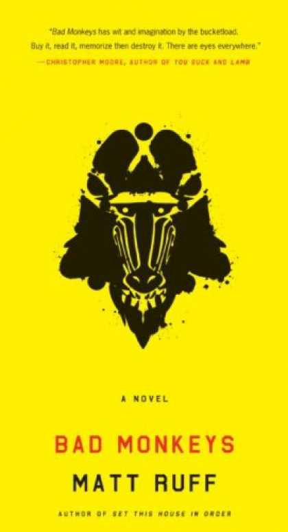 Greatest Book Covers - Bad Monkeys