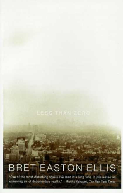 Greatest Book Covers - Less Than Zero
