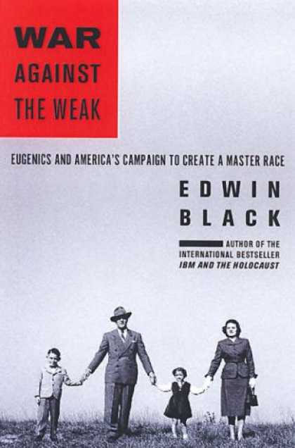 Greatest Book Covers - War Against the Weak