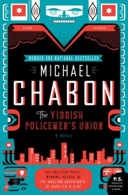 Greatest Book Covers - The Yiddish Policemen's Union