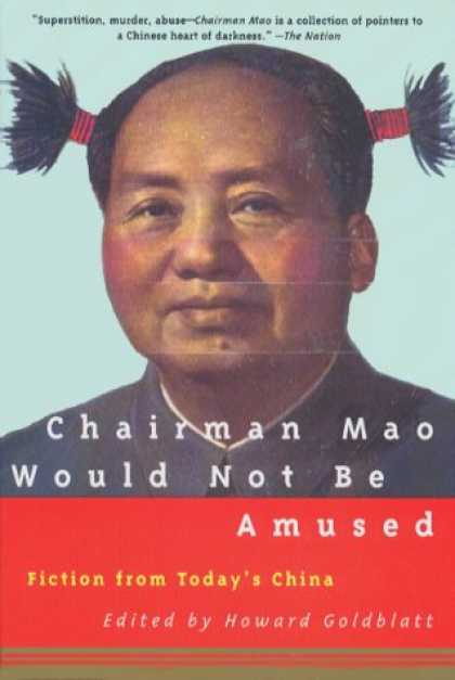 Greatest Book Covers - Chairman Mao Would Not Be Amused