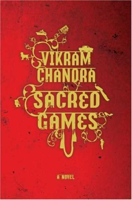 Greatest Book Covers - Sacred Games