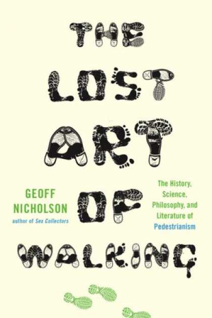 Greatest Book Covers - The Lost Art of Walking