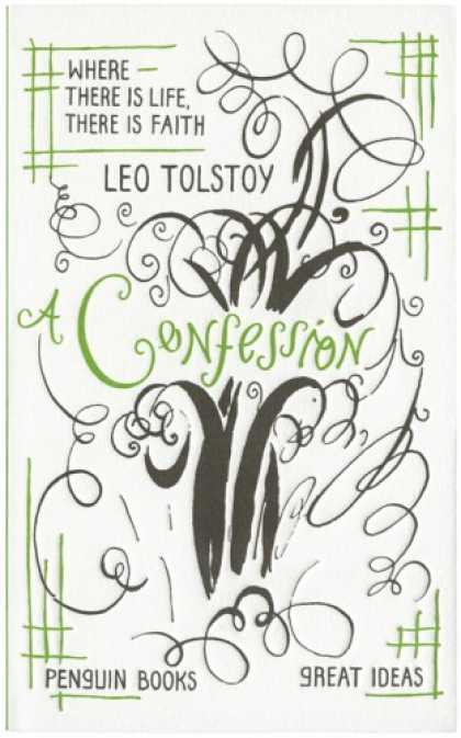 Greatest Book Covers - A Confession
