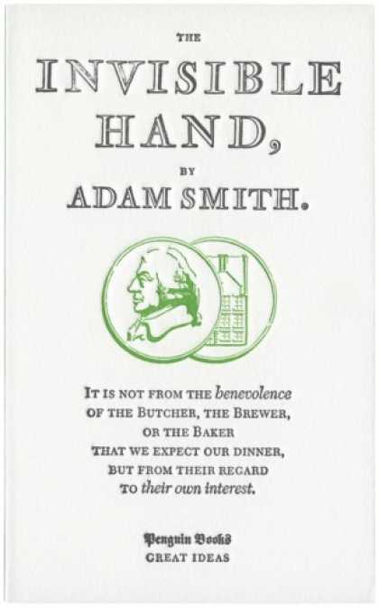 Greatest Book Covers - The Invisible Hand