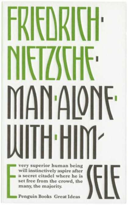 Greatest Book Covers - Man Alone With Himself