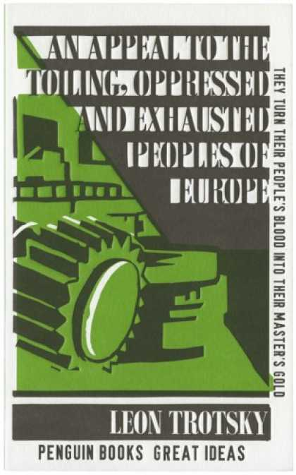 Greatest Book Covers - An Appeal to the Toiling, Oppressed and Exhausted Peoples of Europe