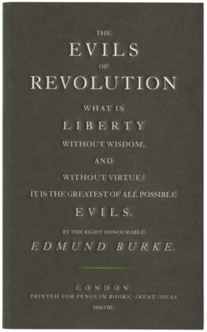 Greatest Book Covers - The Evils of Revolution