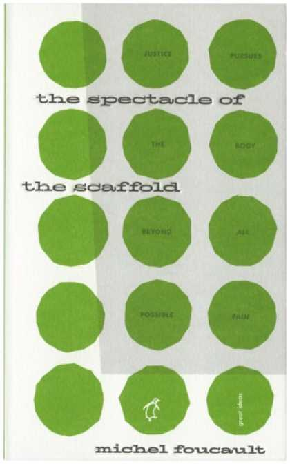 Greatest Book Covers - The Spectacle of the Scaffold