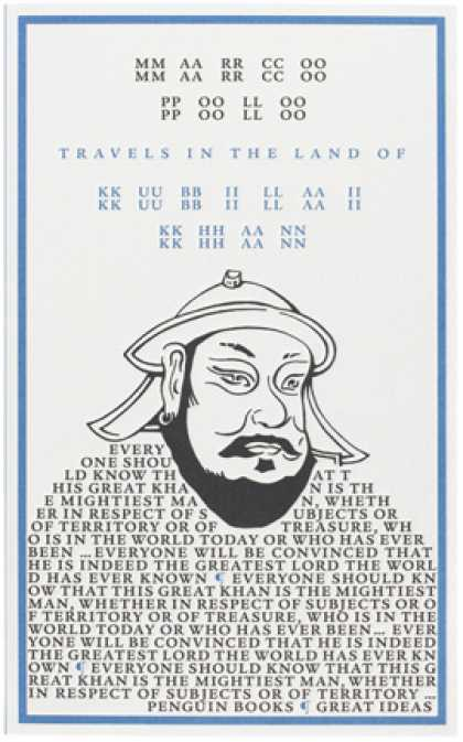 Greatest Book Covers - Travels in the Land of Kubilai Khan