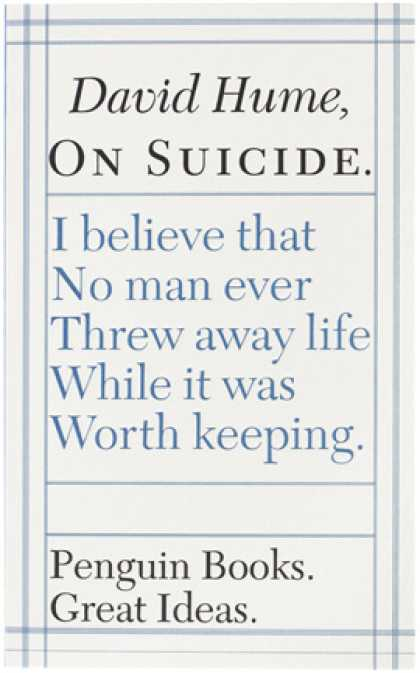 Greatest Book Covers - On Suicide