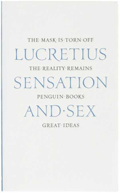 Greatest Book Covers - Sensation and Sex