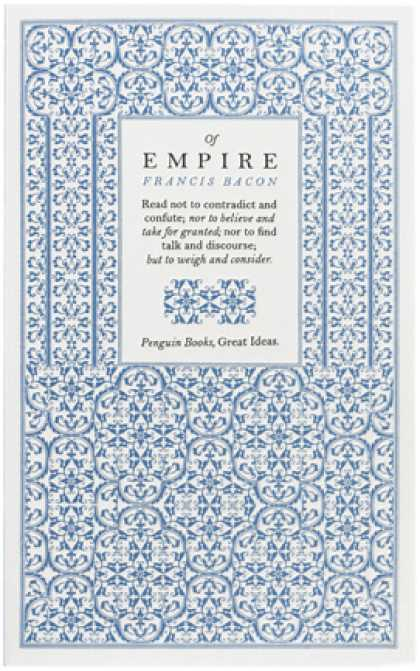 Greatest Book Covers - Of Empire