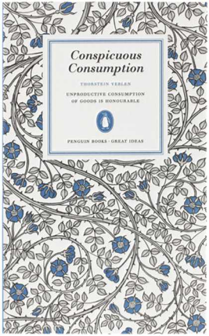 Greatest Book Covers - Conspicuous Consumption