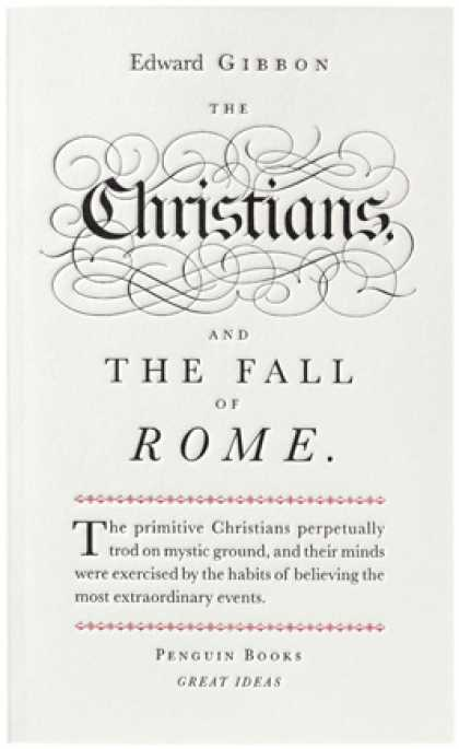 Greatest Book Covers - The Christians and the Fall of Rome