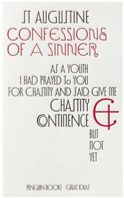 Greatest Book Covers - Confessions of A Sinner