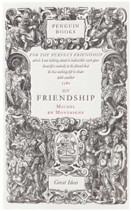 Greatest Book Covers - On Friendship