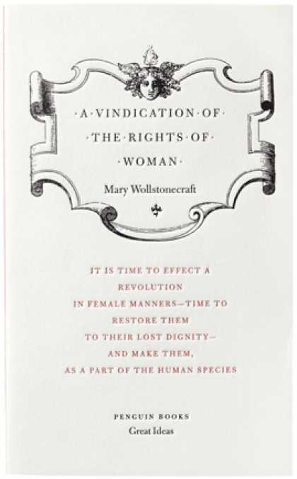 Greatest Book Covers - A Vindication of the Rights of Woman