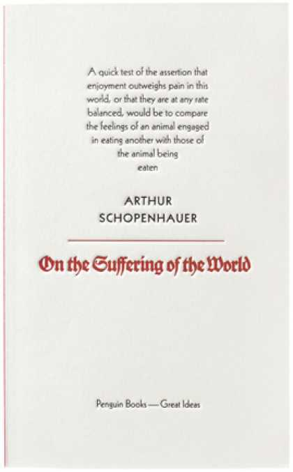 Greatest Book Covers - On the Suffering of the World