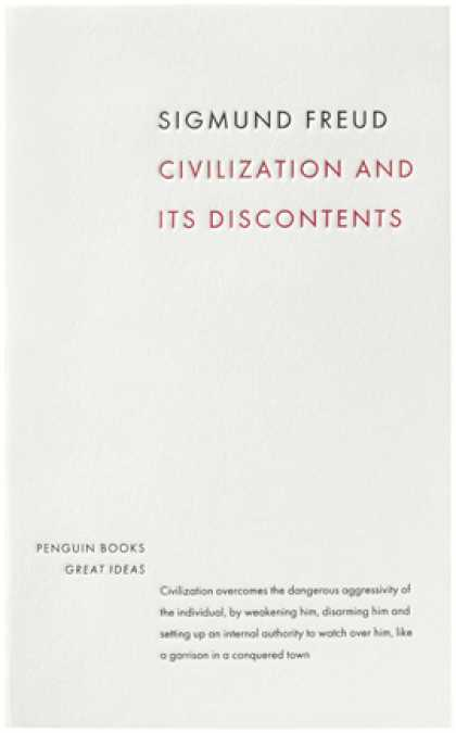 Greatest Book Covers - Civilization and Its Discontents
